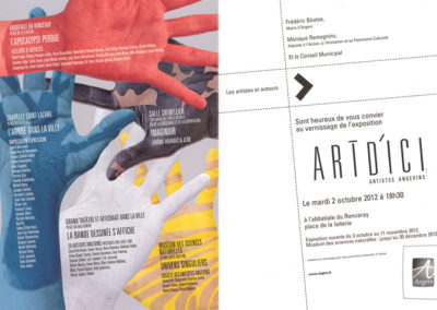 "2012 - Expo ""Art d'Ici"". Angers"
